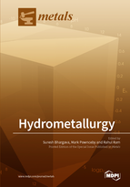 Special issue Hydrometallurgy book cover image