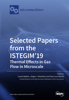 Special issue Selected Papers from the ISTEGIM'19 – Thermal Effects in Gas flow in Microscale book cover image