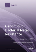 Special issue Genomics of Bacterial Metal Resistance book cover image