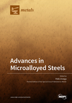 Special issue Advances in Microalloyed Steels book cover image