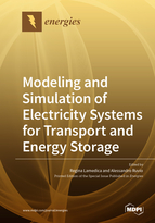 Modeling and Simulation of Electricity Systems for Transport and Energy Storage