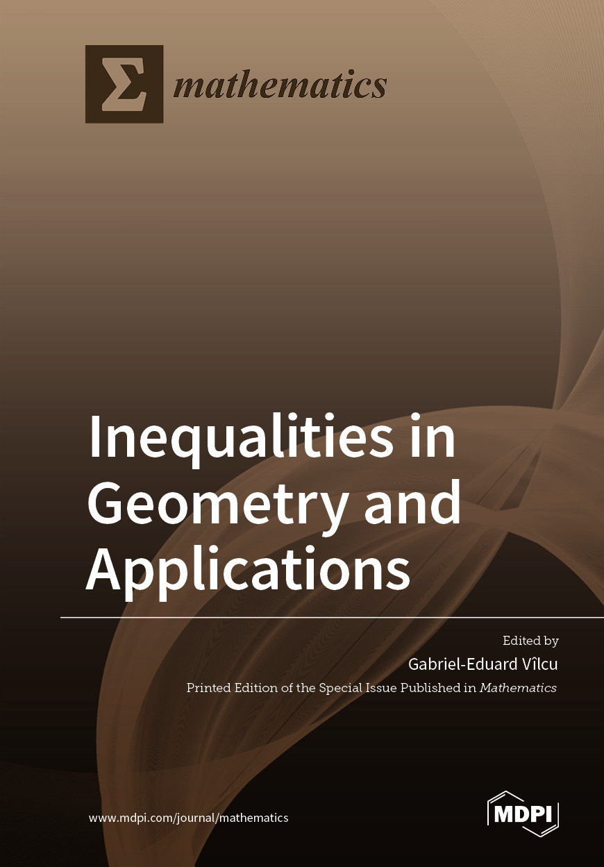 Inequalities in Geometry and Applications