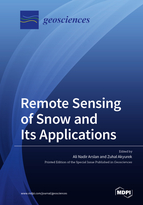 Special issue Remote Sensing of Snow and Its Applications book cover image