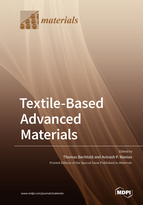Special issue Textile-Based Advanced Materials: Construction, Properties and Applications book cover image