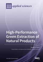 Special issue High-Performance Green Extraction of Natural Products book cover image