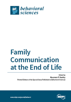 Special issue Family Communication at the End of Life book cover image