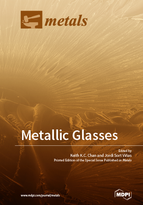 Special issue Metallic Glasses book cover image