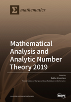 Special issue Mathematical Analysis and Analytic Number Theory 2019 book cover image