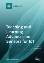 Special issue Teaching and Learning Advances on Sensors for IoT book cover image