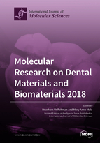 Special issue Molecular Research on Dental Materials and Biomaterials 2018 book cover image