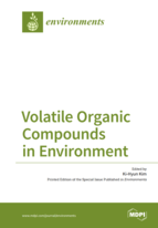Special issue Volatile Organic Compounds in Environment book cover image