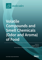 Special issue Volatile Compounds and Smell Chemicals (Odor and Aroma) of Food book cover image