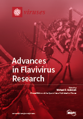 Special issue Advances in Flavivirus Research book cover image