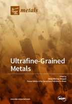 Special issue Ultrafine-grained Metals book cover image