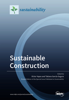 Special issue Sustainable Construction book cover image