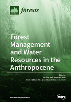 Special issue Forest Management and Water Resources in the Anthropocene book cover image