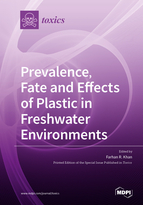 Special issue Prevalence, Fate and Effects of Plastic in Freshwater Environments book cover image