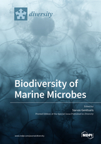 Special issue Biodiversity of Marine Microbes book cover image