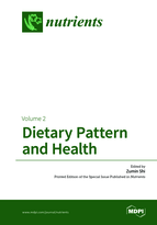 Special issue Dietary Pattern and Health book cover image