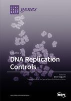 Special issue DNA Replication Controls book cover image
