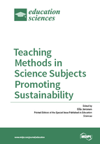 Special issue Teaching Methods in Science Subjects Promoting Sustainability book cover image