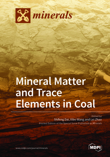 mineral matter and trace elements in coal mdpi books