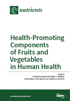 Special issue Health-Promoting Components of Fruits and Vegetables in Human Health book cover image