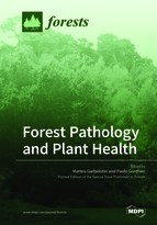 Special issue Forest Pathology and Plant Health book cover image
