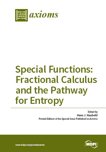 Special Functions: Fractional Calculus and the Pathway for Entropy