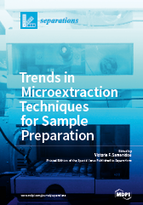 Special issue Trends in Microextraction Techniques for Sample Preparation book cover image
