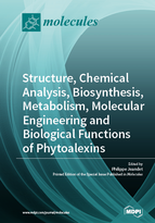 Special issue Structure, Chemical Analysis, Biosynthesis, Metabolism, Molecular Engineering and Biological Functions of Phytoalexins book cover image