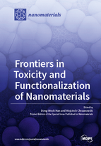 Special issue Frontiers in Toxicity and Functionalization of Nanomaterials book cover image
