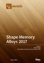 Special issue Shape Memory Alloys 2017 book cover image