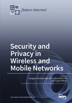 Special issue Security and Privacy in Wireless and Mobile Networks book cover image