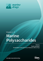 Special issue Marine Polysaccharides book cover image