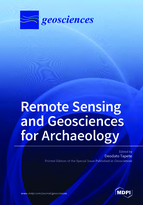Special issue Remote Sensing and Geosciences for Archaeology book cover image