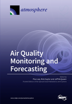 Special issue Air Quality Monitoring and Forecasting book cover image