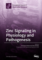 Special issue Zinc Signaling in Physiology and Pathogenesis book cover image