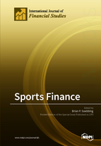 Special issue Sports Finance book cover image