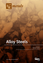Special issue Alloy Steels book cover image