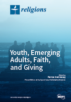 Special issue Youth, Emerging Adults, Faith, and Giving book cover image