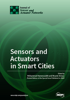 Special issue Sensors and Actuators in Smart Cities book cover image
