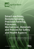 Special issue Smart machines, Remote Sensing, Precision Farming, Processes, Mechatronic, Materials and Policies for Safety and Health Aspects book cover image