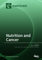 Special issue Nutrition and Cancer book cover image