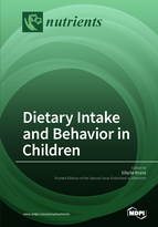 Special issue Dietary Intake and Behavior in Children book cover image