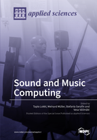 Special issue Sound and Music Computing book cover image