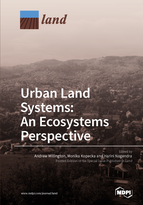 Special issue Urban Land Systems: An Ecosystems Perspective book cover image