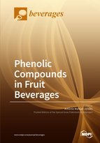 Special issue Phenolic Compounds in Fruit Beverages book cover image