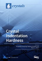 Special issue Crystal Indentation Hardness book cover image