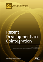 Special issue Recent Developments in Cointegration book cover image